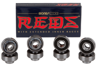 Bones Bearings Race Reds